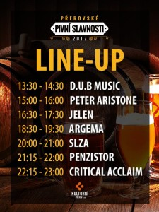 line up přerov